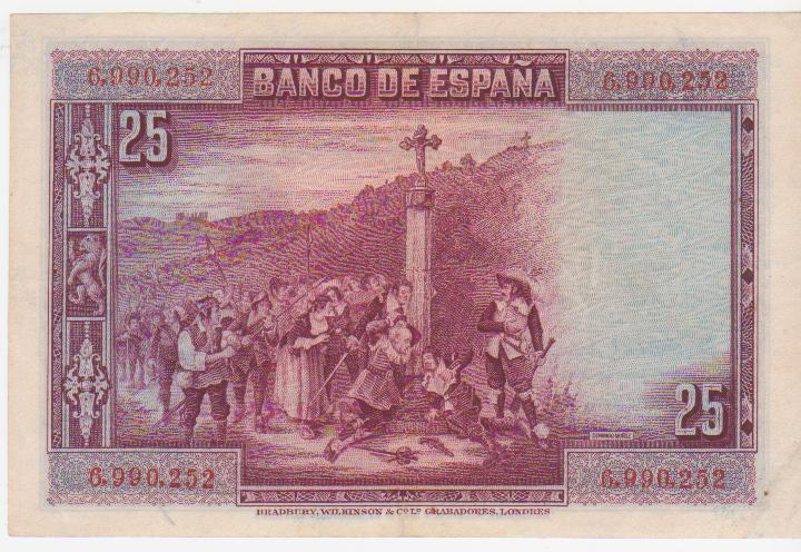 1928 - 25 Pesetas 1928 (Sin Serie) 25_pesetas_1928_ss_002