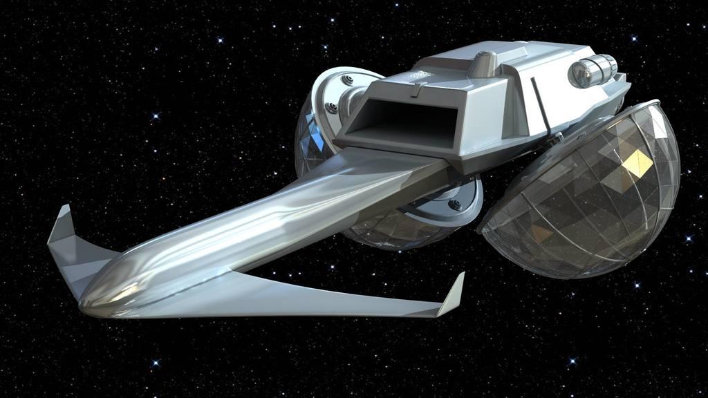 Emilon Provident-Class 3D CGI Model 010