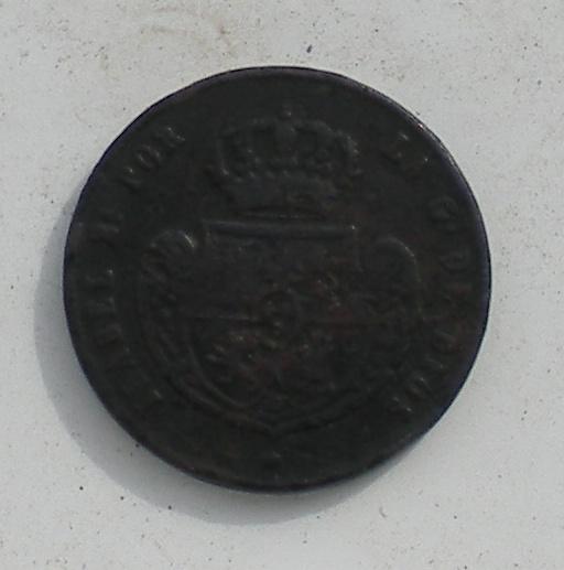 5 décimas 1850, Jubia DSCN3456