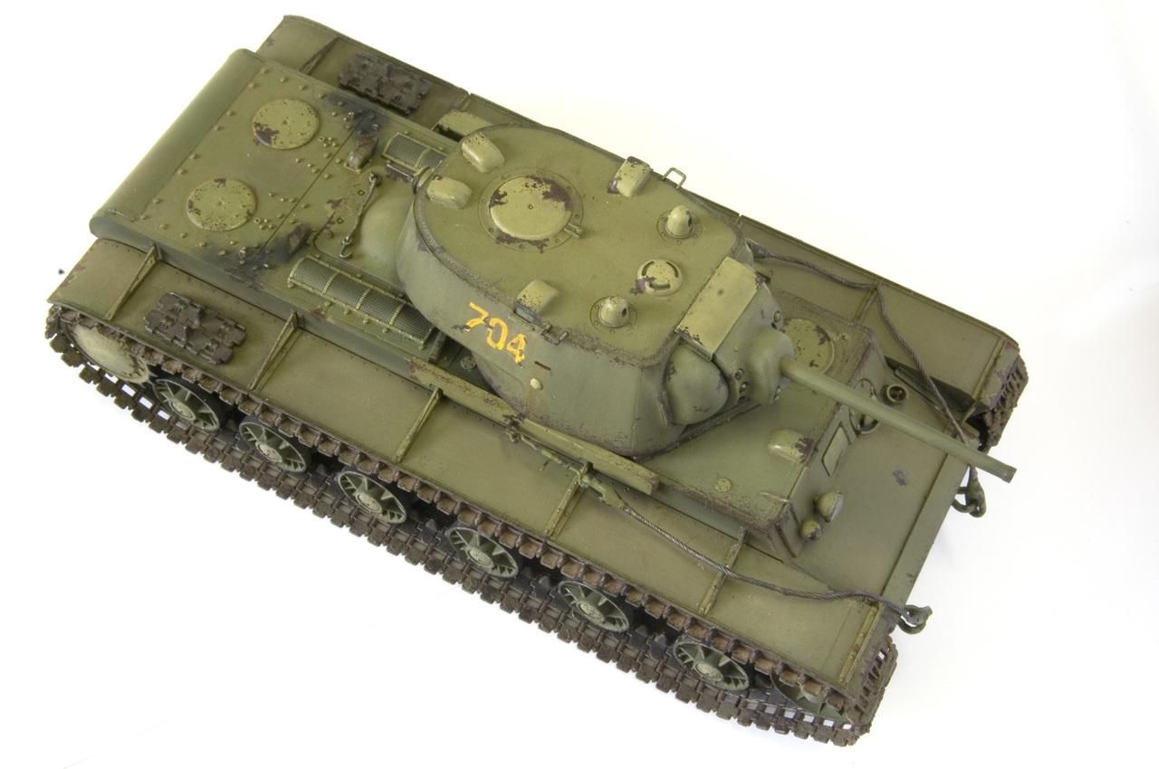 КВ 1942 года с литой башней (Trumpetr) YURA5257