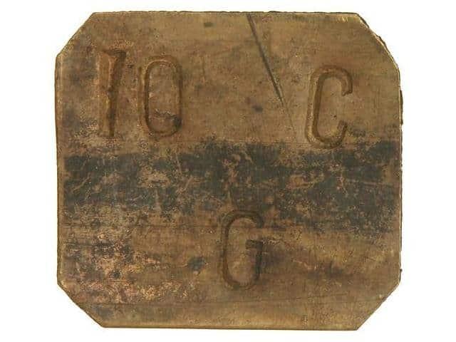 Moneda de 5 Cts. Gratallops rarísima 115588l
