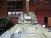 Советский средний танк ОТ-34, завод № 174, осень 1943 г., Военно-технический музей, г.Черноголовка, Московская обл. 34_061