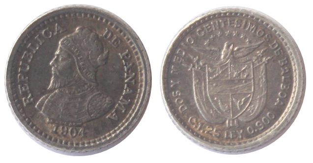 Moneda de Panamá, (dedicada a Zorro_rojo) Balboa