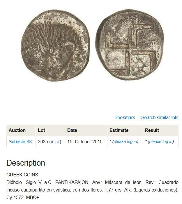 Tetróbolo de Akanthos (Macedonia), 424 a 400 a.C.  Nuevo_2