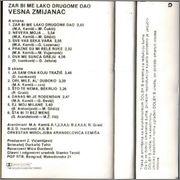 Vesna Zmijanac - Diskografija  1985_ka_z
