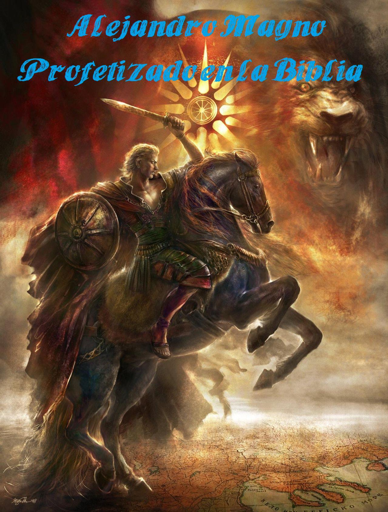 Alejandro Magno lee sobre sí mismo en una profecía de la Biblia 882178_269058679894566_2079072894_o