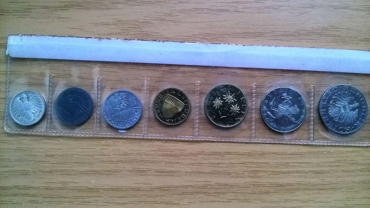 Austria set siete monedas proof 1978 WP_20151003_002