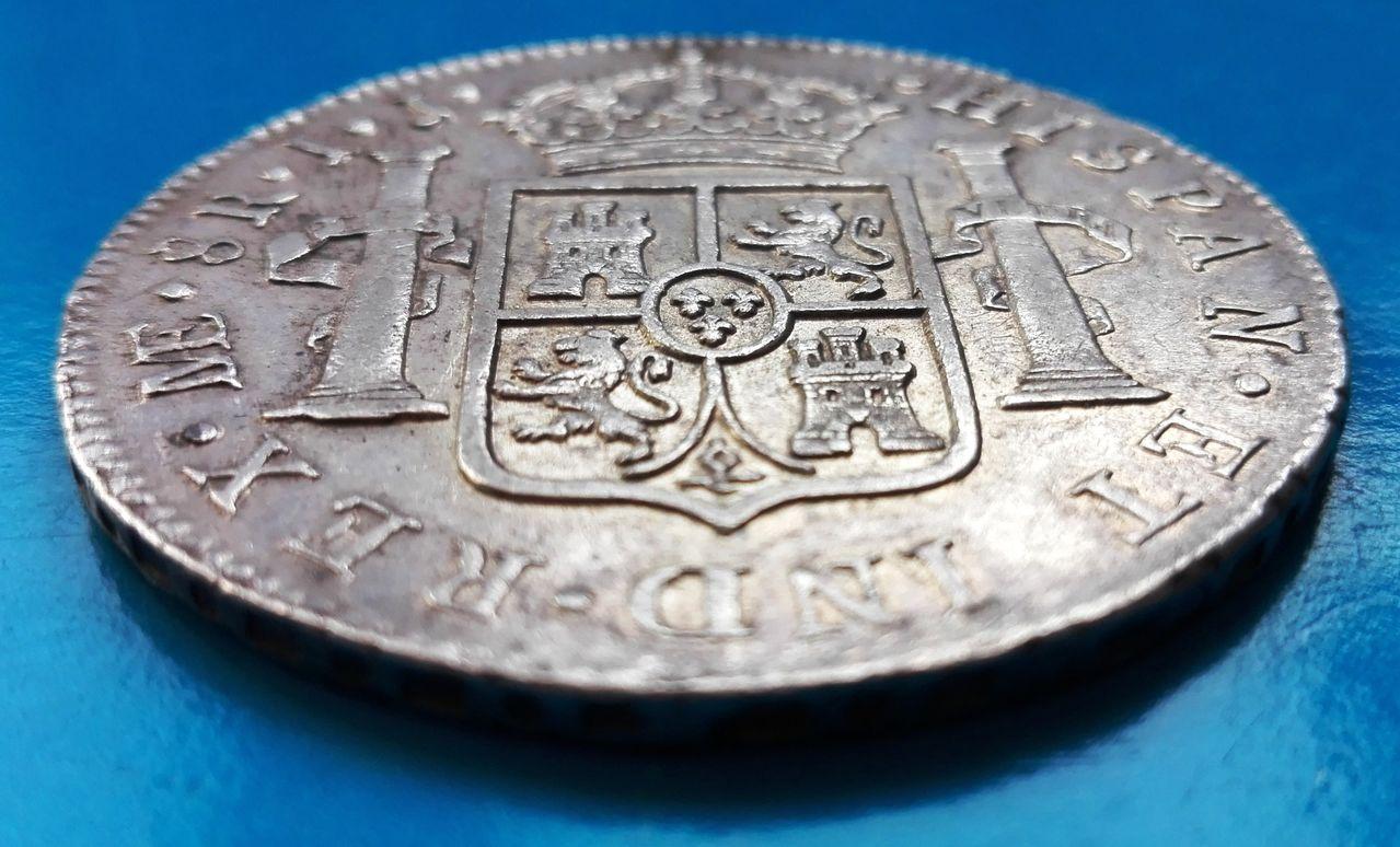 8 reales 1790 Carlos IV, Lima 8_reales_1790_lima_6