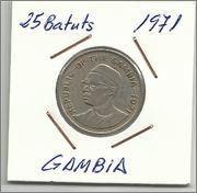 Monedas que representen árboles 25_batuts_de_1971_Gambia_a