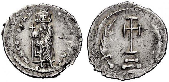 Denominación de las monedas de Bizancio. 1ª parte Medio_miliarense