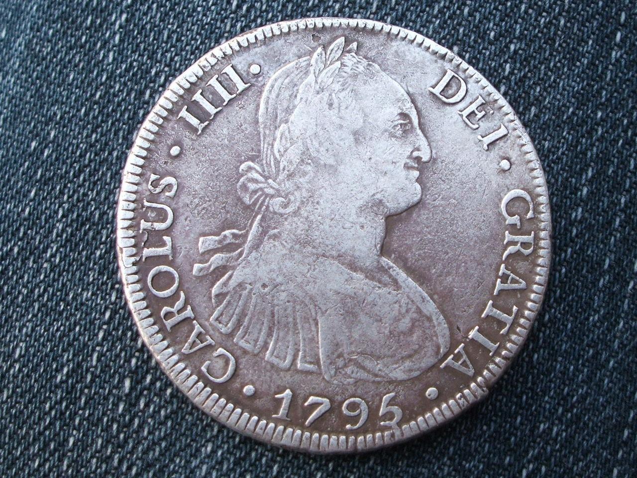 8 Reales 1795 Carlos IIII,  Potosi- PR 018_2