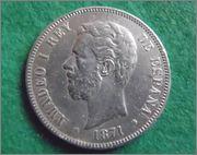 AMADEO I REY DE ESPAÑA 1871 - esta si ?? Buena_1