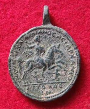 Medallón de Caracalla. ΕΠΙ ΟΥΑΛΜΟΛΟZ ΟΥΑΡΧΑ Σ/ΑΗΝΩΝ. Emperador a caballo. Lydia. Meallon2