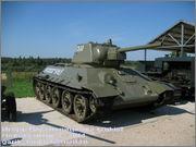 """Советский средний танк Т-34, завод № 183, III квартал 1942 года, музей """"Линия Сталина"""", Псковская область 34_183_030"""