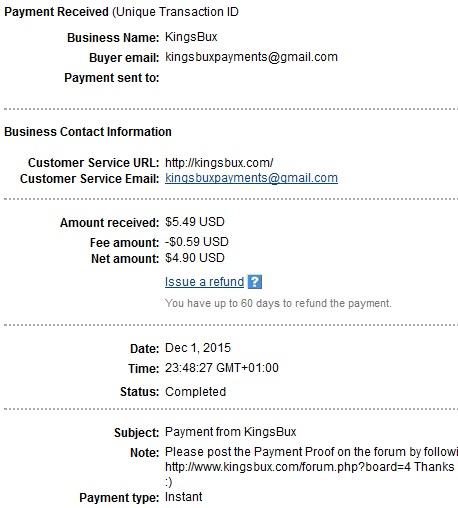 Kingsbux - kingsbux.com Kingsbuxpayment