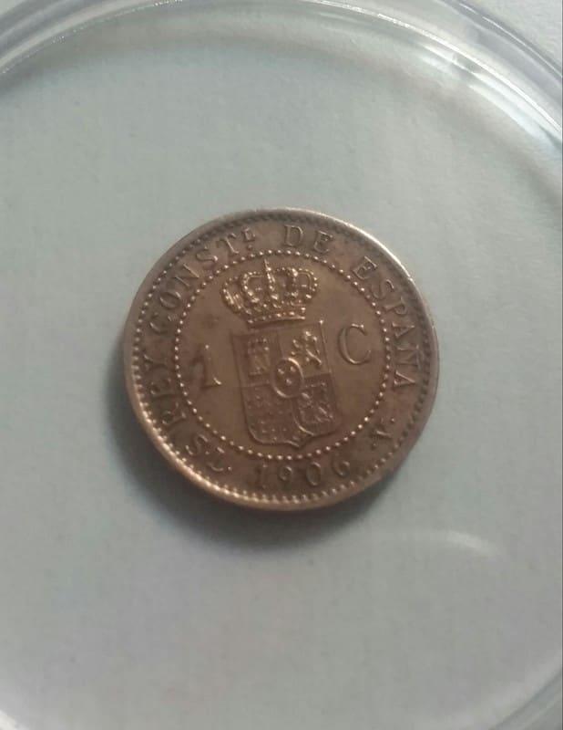 1 centimo 1906. Alfonso XIII. SL V 20161116_171754_1