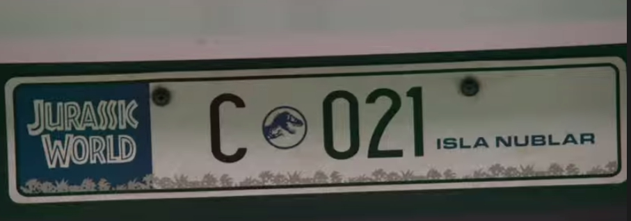 Mercedes no filme Jurassic World Screenshot_109