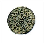 Jetón de Cuentas de la Corona. Francia. s.XV. Img470