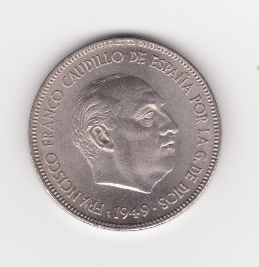 5 pesetas 1949 *50 5_pesetas_1949_50