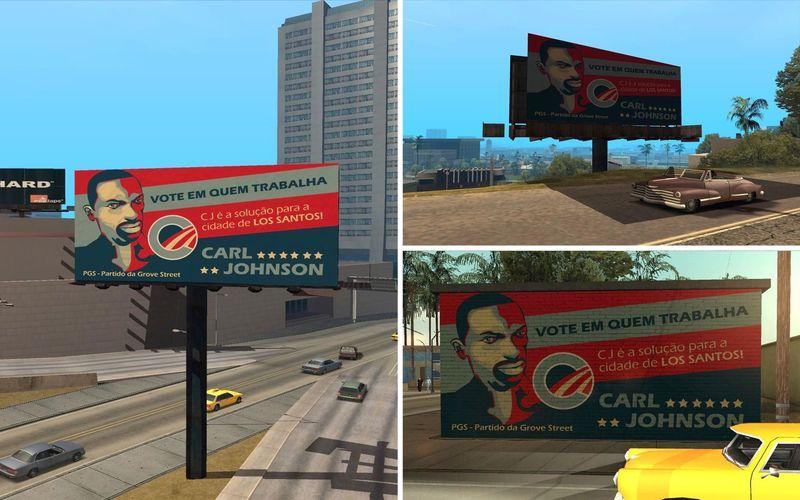 Material Campanha CJ Prefeito EUA1