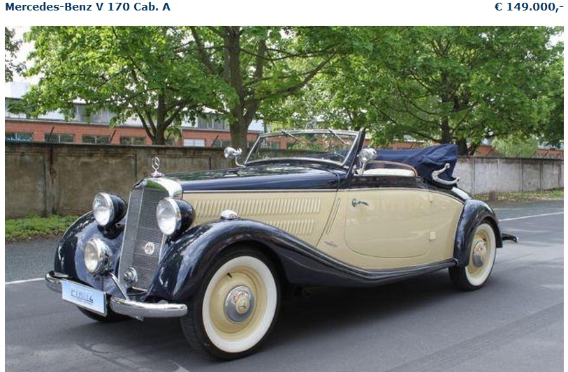 W136 170S 1951 - R$ 45.000,00 170
