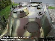 "Немецкий тяжелый танк PzKpfw V Ausf.G  ""Panther"",  rue D'Erezee, Manhay, Belgique Panther_Manhay_153"