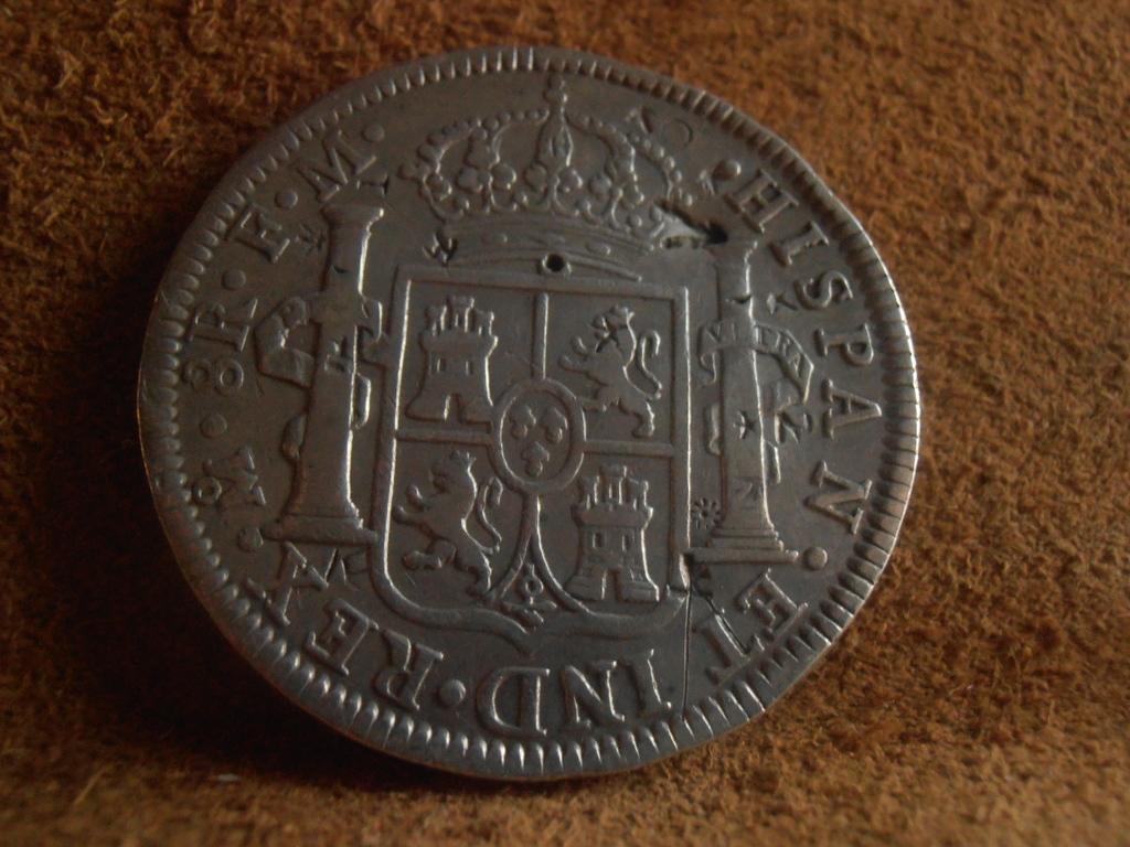 8 Reales 1795. Carlos IV. Méjico P9120012