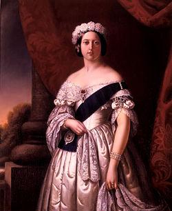 1 corona Reina Victoria 1890 Gran Bretaña 250px_Melville_Queen_Victoria