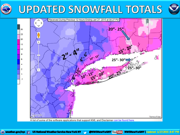 """January 26-27, 2015 """"Bust"""" Roidzilla Storm In Review - Page 2 Maps"""