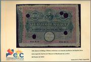 Billetes Cedidos a la convencion de Torremolinos. Malaga_1
