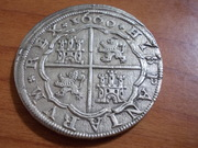 8 Reales 1660 Segovia , Felipe IV DSCN0737