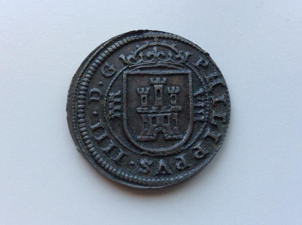 8 MARAVEDIS Felipe IV 1621 ceca de SEGOVIA IMG_4179