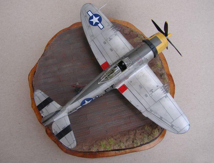 P-47D-30RE Thunderbolt, Revell, 1/72 DSC03168