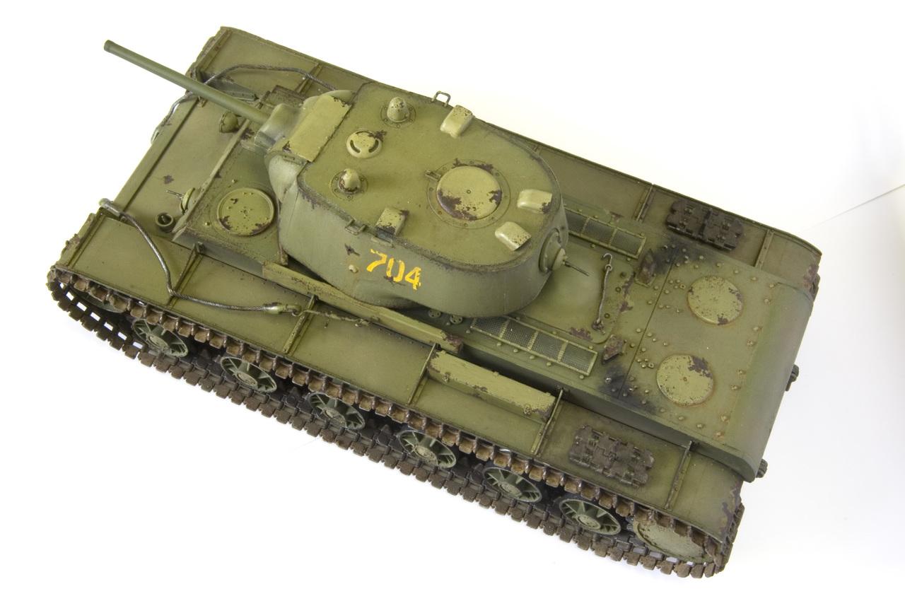 КВ 1942 года с литой башней (Trumpetr) YURA5258