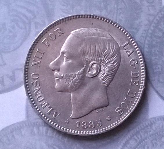 5 pesetas 1885*87 MSM WP_20150110_003