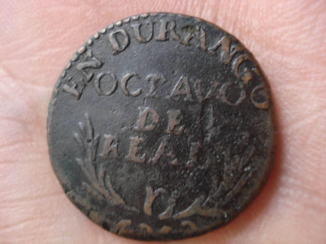 1/8 de real Durango 1818, Fernando VII. Monedas3_026