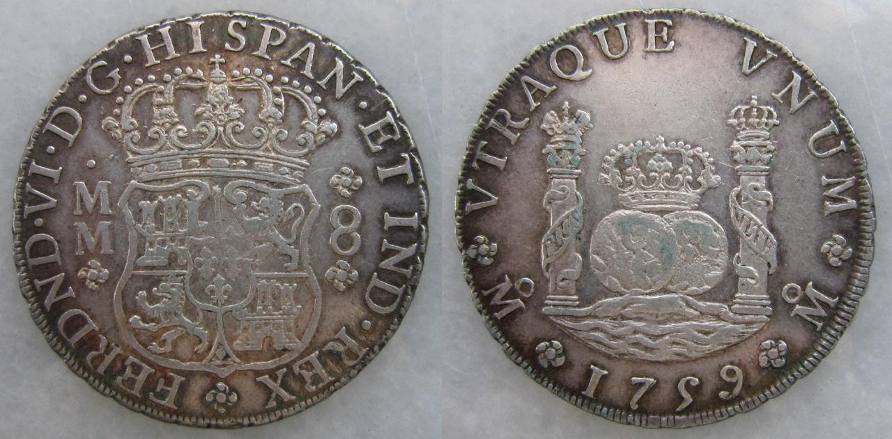 8 reales Fernando VI 1759 México 8_reales_Fernando_VI_M_xico_1759