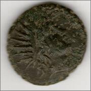 AE23 de Filipo V de Macedonia. BAΣIΛEΩΣ / ΦIΛIΠΠOY  Smg_383a