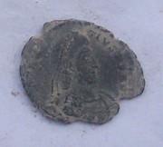 AE3 de Constancio II. FEL TEMP REPARATIO. Arlés 102_3972