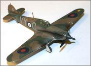Hawker Hurricane MkI 1/72 airfix IMG_0971