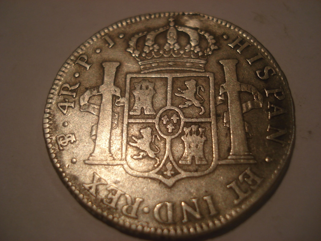 4 reales 1808. Carlos IV. Potosí Otras_006