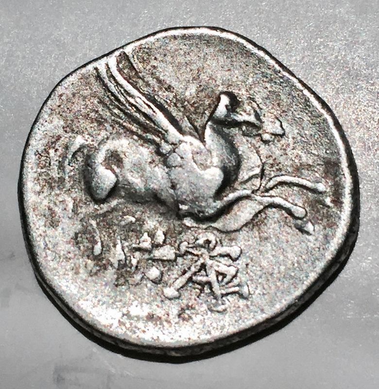 Iliria, Corcyra. Didracma, 229 a.C., con doble acuñación. IMG_0298