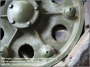 Советский средний танк ОТ-34, завод № 174, осень 1943 г., Военно-технический музей, г.Черноголовка, Московская обл. 34_051