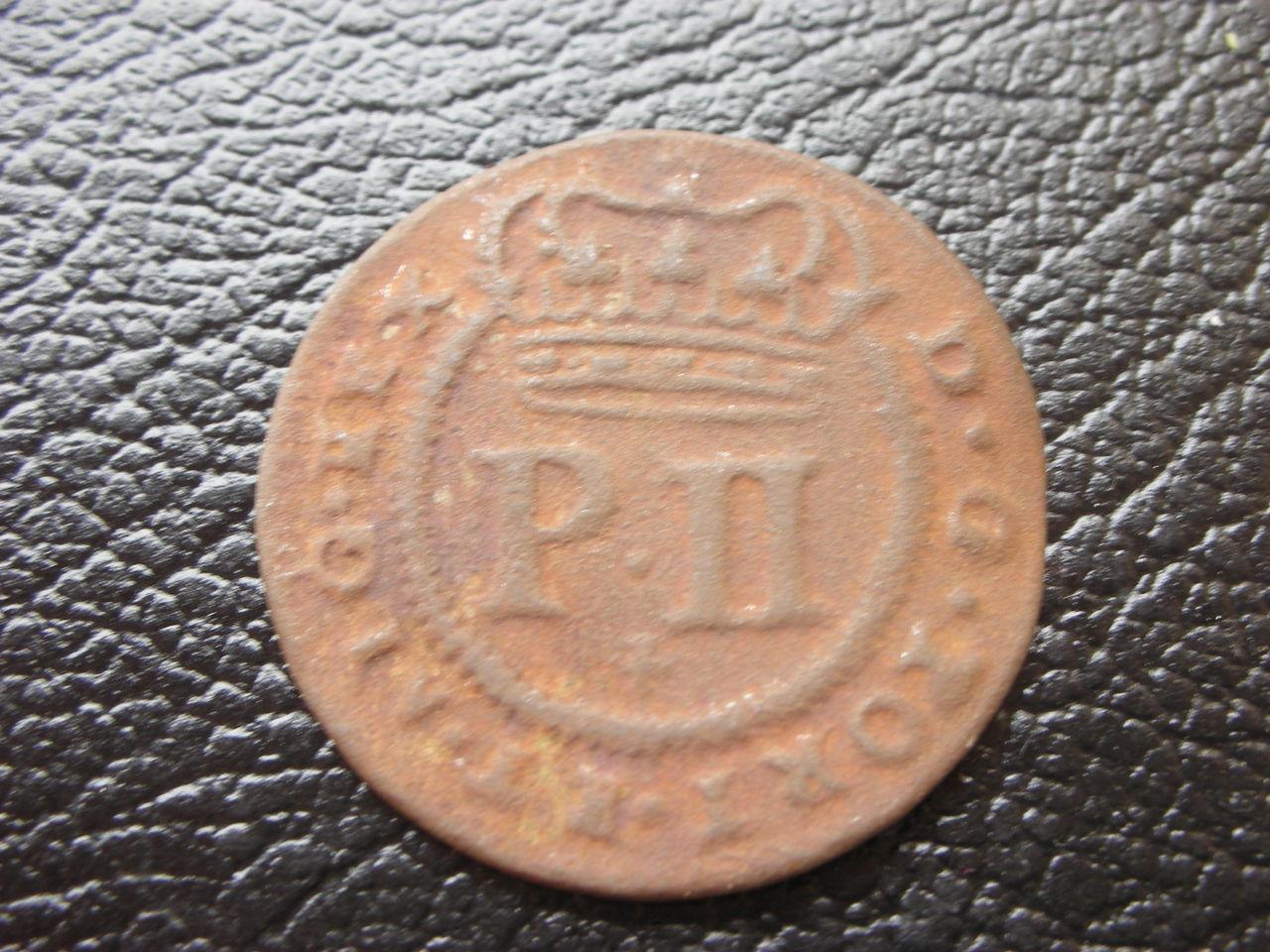 5 Reis  de Pedro II de Portugal. 1699 003