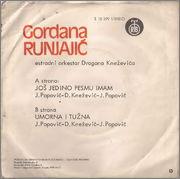 Gordana Runjajic - Diskografija 1978_z