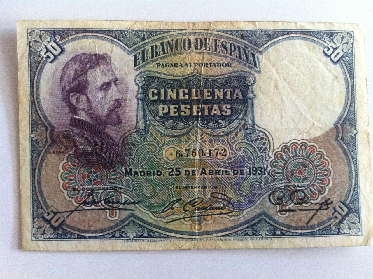 Ayuda valoracion veinticinco pesetas 1931 IMG_4999
