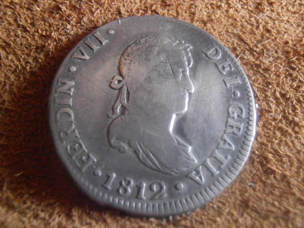 2 Reales 1812. Fernando VII. Lima P3250049