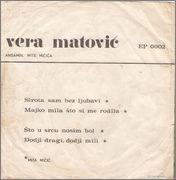 Vera Matovic - Diskografija 1971_b