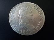 2 Reales 1.812 Cádiz, Fernando VII DSCN1299