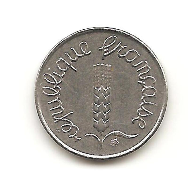 1 centavo de 1969 de Francia  Image